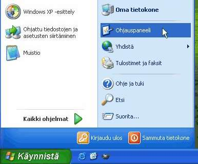 Kuva 1: Windowsin version tunnistaminen